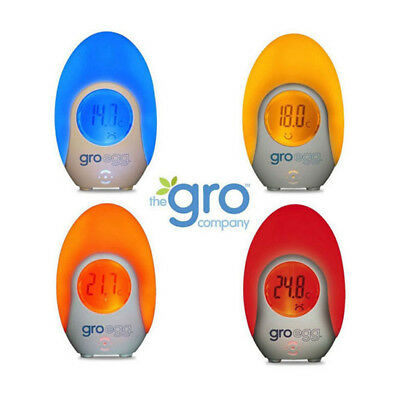 Groegg colour changing digital baby room thermometer + FREE SHIPPING