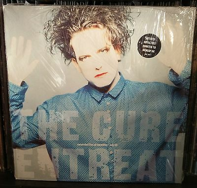 The Cure Entreat Lp 1990 Holland NM/NM Fiction Records ‎– FIXH 17