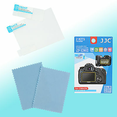 Canon EOS 5D Mark III 5DS R Top & Back LCD Screen Guard Protector JJC LCP-5DM3II