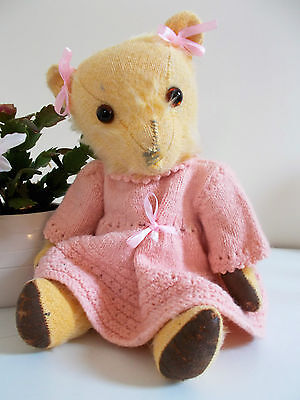 """""""Maisie"""" - Lovely Vintage Ted. Pretty in Old Pink Dress"""