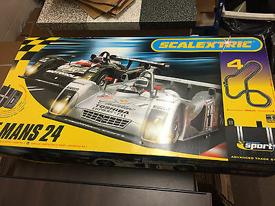 Scalextric Le Mans 24 Set Very Good Condition C1083