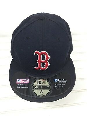 ... red sox new era 59fifty cool base low crown 8 63.5cm 1f81249dcab6