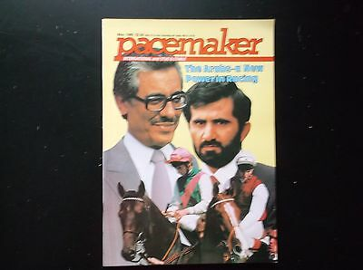 Pacemaker Magazine May 1985 Khalid Abdulla & Sheikh Mohammed On Cover