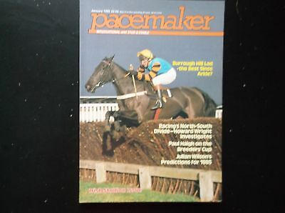 Pacemaker Magazine Jan. 1985 Burrough Hill Lad On Cover
