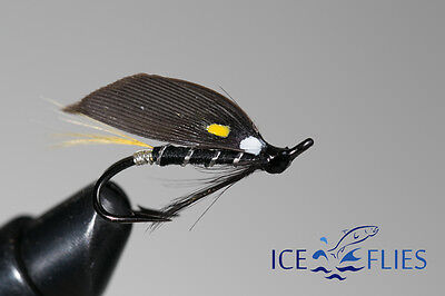 Salmon Fly,Sveep, Double Hook.(3-pack) Pick a size. Fly Fishing Fly