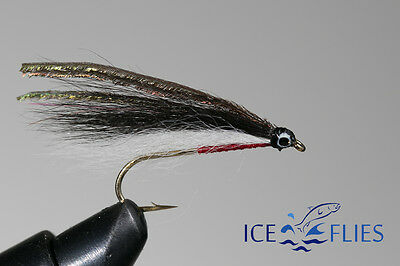 Francis Red Single Hook. Fly Fishing Fly 3-pack Salmon Fly Pick a size