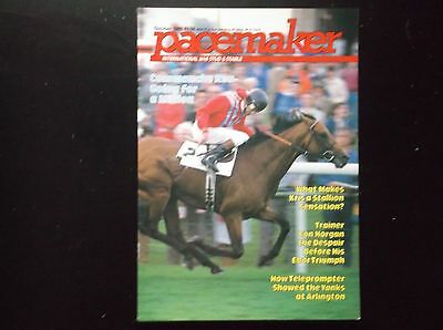Pacemaker Magazine Oct.1985 Commanche Run On Cover