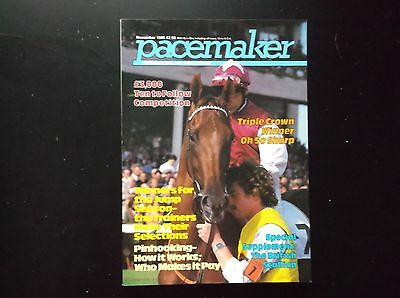 Pacemaker Magazine Nov.1985 Oh So Sharp On Cover