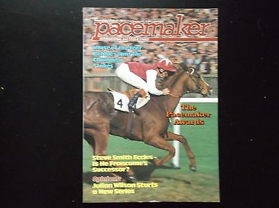 Pacemaker Magazine Dec.1985 Pebbles & Pat Eddery On Cover