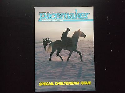 Pacemaker Magazine March 1986 Desert Orchid On Cover