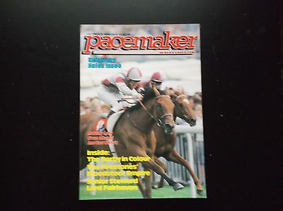 Pacemaker Magazine July 1986 Midway Lady's Oaks On Cover