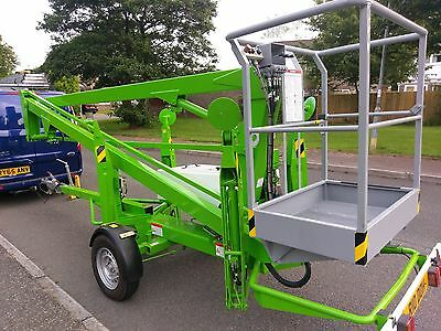 Niftylift 120 Hydraulic Lifting Platform Cherry Picker