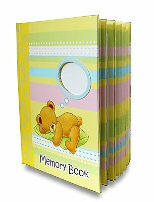 LittleLight Baby Memory Book, Journal and Baby Shower Gift, First Year, Unisex