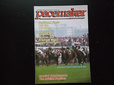 Pacemaker Magazine Nov.1986  Dancing Brave's Arc On Cover