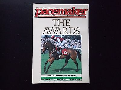 Pacemaker Magazine Jan.1987 Sonic Lady On Cover