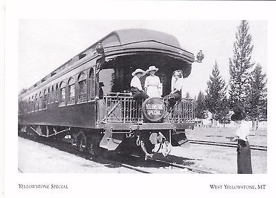 "*Postcard-""The Yellowstone Special"" /Early 1900's/  *W Yellowstone, MT (#273)"