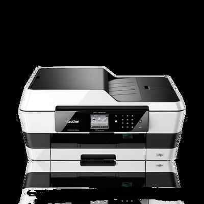 Brother MFC-J6520DW A3 Colour All in One Inkjet Printer Scanner Copier j6520 a4