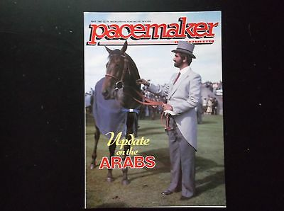 Pacemaker Magazine May 1987  Sheikh Mohammed & High Hawk On Cover