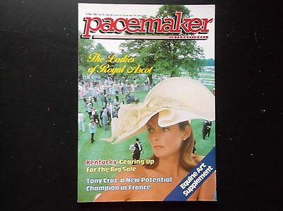 Pacemaker Magazine June 1987 Royal Ascot On Cover
