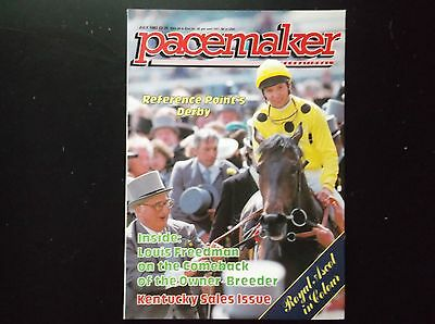 Pacemaker Magazine July 1987 Reference Point On Cover