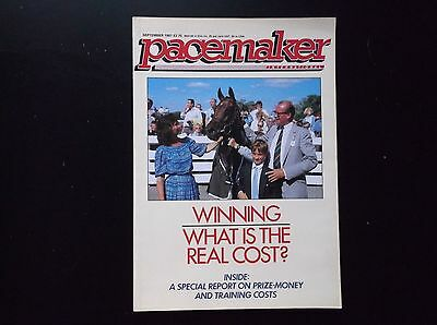 Pacemaker Magazine Sept.1987 Pea Green On Cover