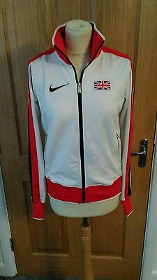 Official Team GB OLimpic Womans White Fleece Size 1