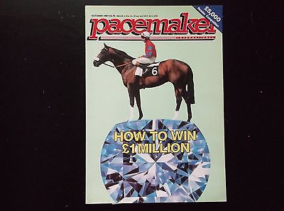 Pacemaker Magazine Oct.1987 How To Win A Million On Cover