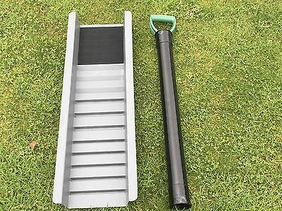 Gold Sluice Box,drop Riffle ,with Gravel Pump Combo New,best Deal Out There