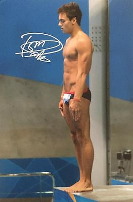 TOM DALEY signed 12x8 photo OLYMPIC DIVING autograph/coa