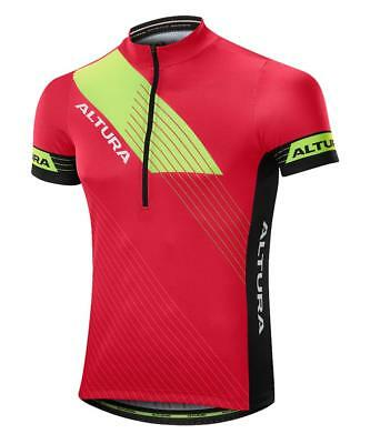 Altura Sportive Mens Short Sleeve Cycling Jersey Red