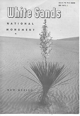 White Sands, New Mexico  National Monument Brochure
