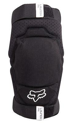 Fox Launch Pro Youth Knee Guards Black