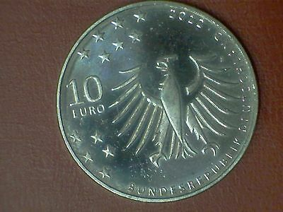 GERMANIA 10 EURO 2012 ARGENTO QFDC (lotto B)