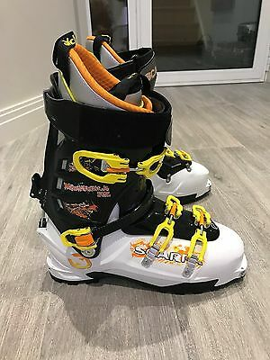Scarpa Maestrale RS Ski Touring Boots Mondo 32.5 worn once unmoulded UK13.5 EU49