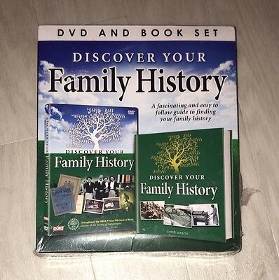 Discover Your Family History Dvd And Book Set Bnwt Family Tree