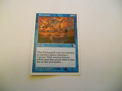 1x MTG Extinguish Magic EDH Portal Three Kingdoms P3K ING Inglese x1