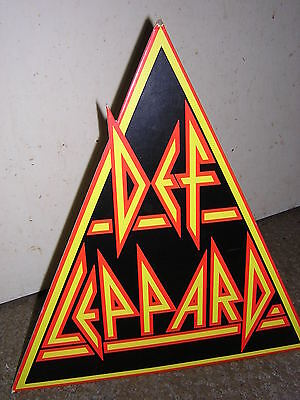 Original Shaped Counter Board - Def Leppard