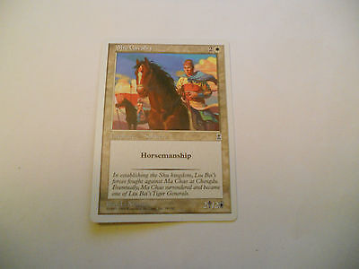 1x MTG Shu Cavalry Magic EDH Portal Three Kingdoms P3K ING Inglese x1