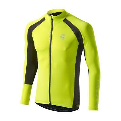 Altura Airstream Summer Long Sleeve Cycling Jersey Yellow/Black