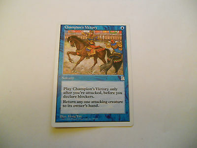 1x MTG Champion's Victory Magic EDH Portal Three Kingdoms P3K ING Inglese x1