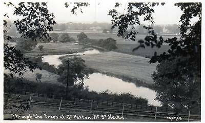 Great Paxton Nr St Neots RP old postcard used 1940