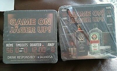 Jager square coasters