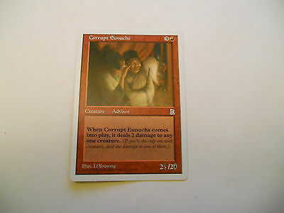 1x MTG Corrupt Eunuchs Magic EDH Portal Three Kingdoms P3K ING Inglese x1