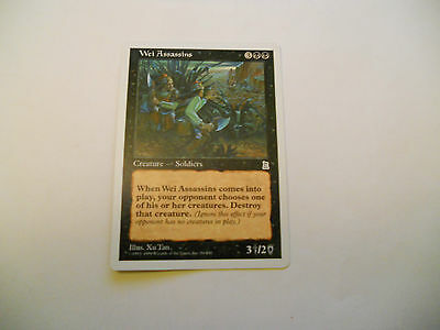 1x MTG Wei Assassins Magic EDH Portal Three Kingdoms P3K ING Inglese x1