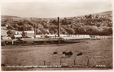 Keith from above Islabank Textile Mills Distillery ? RP pc used 1941 Valentines