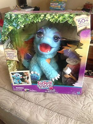 FurReal Friends Torch My Blazin' Dragon Interactive Sound & Motion Kids Toy New