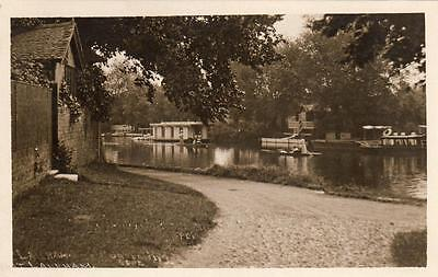 Laleham chatming spot Houseboat Nr Staines Sunbury unused RP old pc