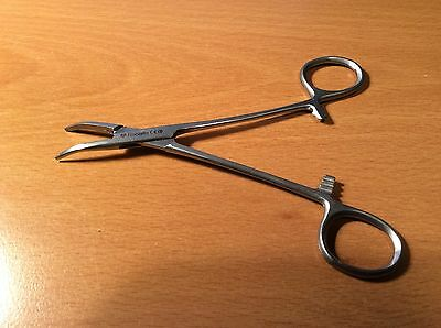 "5.5""Fishing Unhooking Forceps, Curved. Fly tying, Model Making, Crafts Etc."