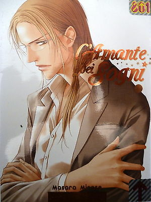 L'AMANTE DEI SOGNI n.1 di Masara Minase ed. MAGIC PRESS - SCONTO 20% -