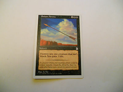 1x MTG Poison Arrow Magic EDH Portal Three Kingdoms P3K ING Inglese x1